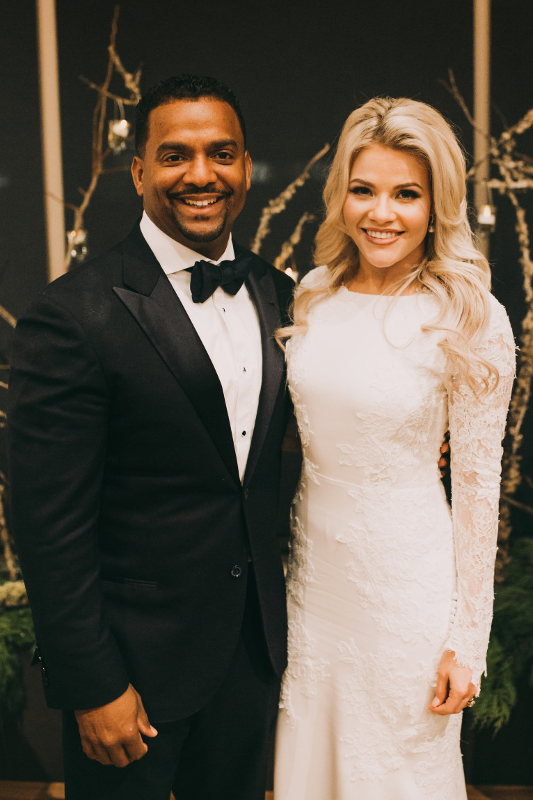 wedding day witney carson