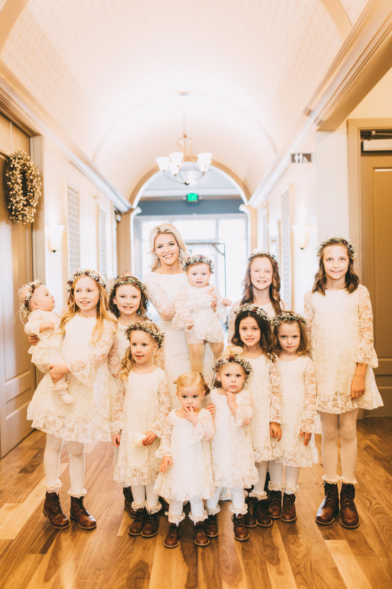 Wedding day flower girls witney carson heres the discount code for these amazing genuine leather boots its 20 off use witneylovesmiko instagram code mikoleonkids flower girl mightylinksfo
