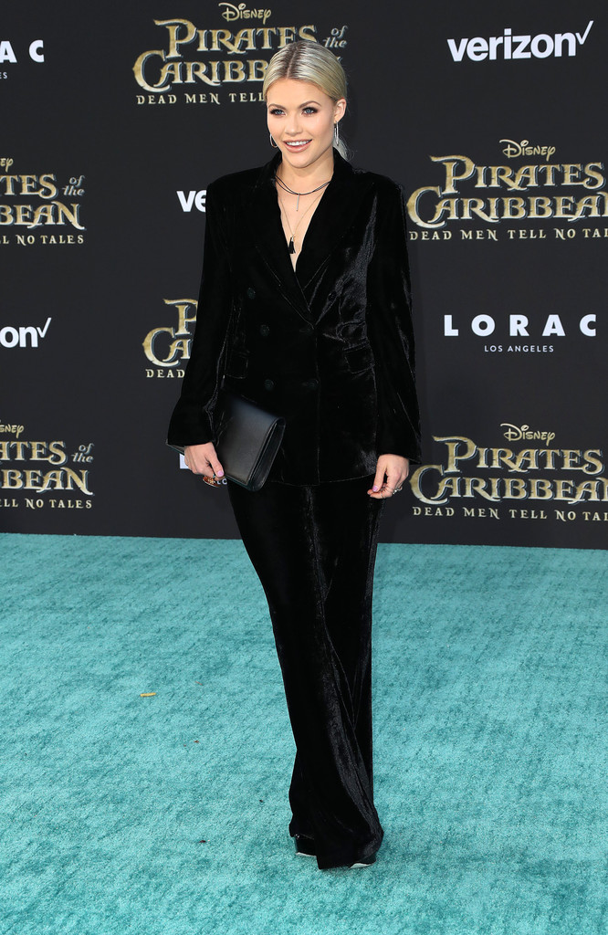 Witney Carson Pirates of the Caribbean Premiere