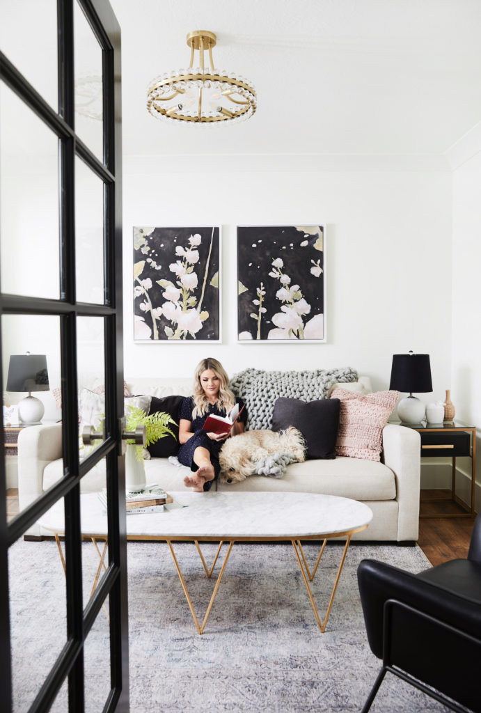 My Living Room Remodel Witney Carson Extraordinary Living Room Remodel